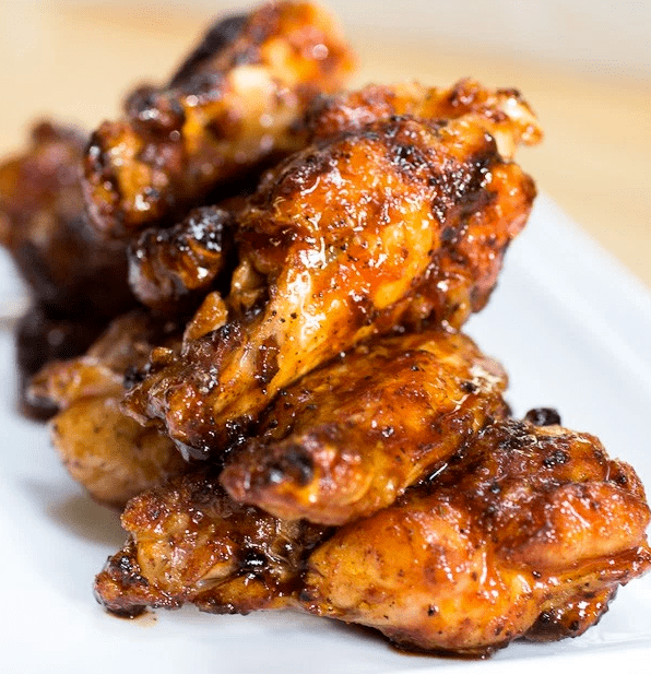 Spicy grilled chicekn wings