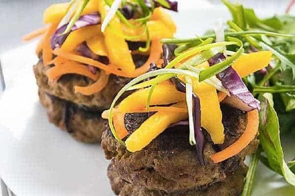 curried burgers