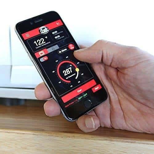 Bradley Smoker BS916 Digital Bluetooth Compatible Smart Smoker - app