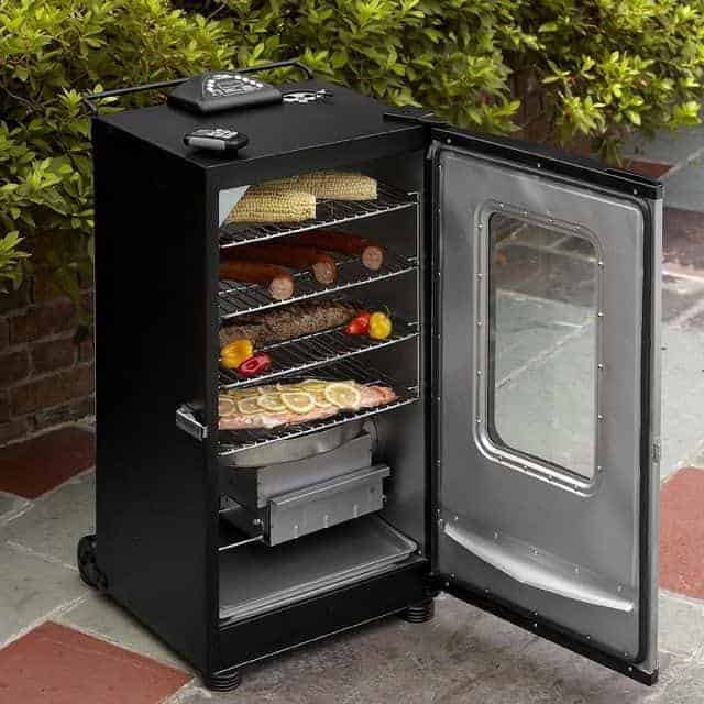Masterbuilt 20070311 40-Inch Top Controlled Electric Smoker With Window And RF Controller