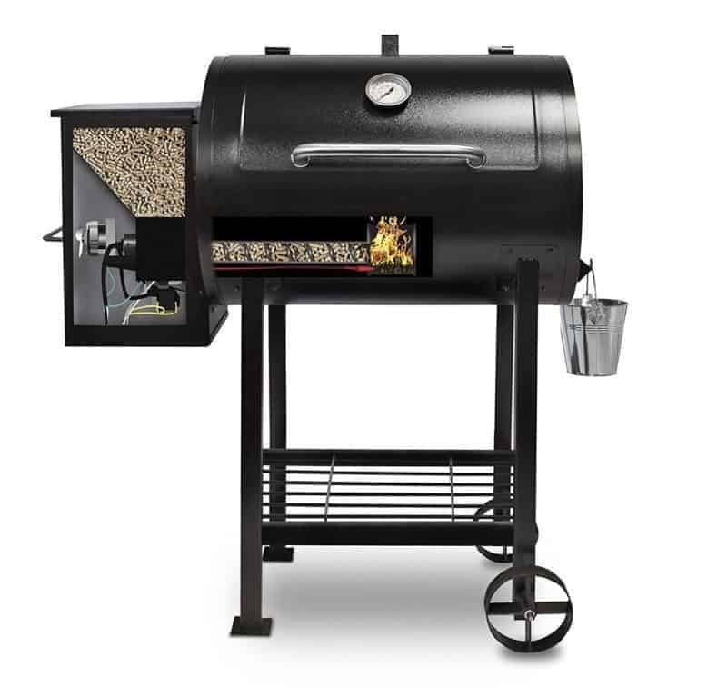 Pit Boss 71700FB Pellet Grill with Flame Broiler