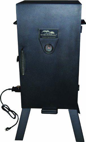 Masterbuilt 20070210 30-Inch Black Electric Analog Smoker
