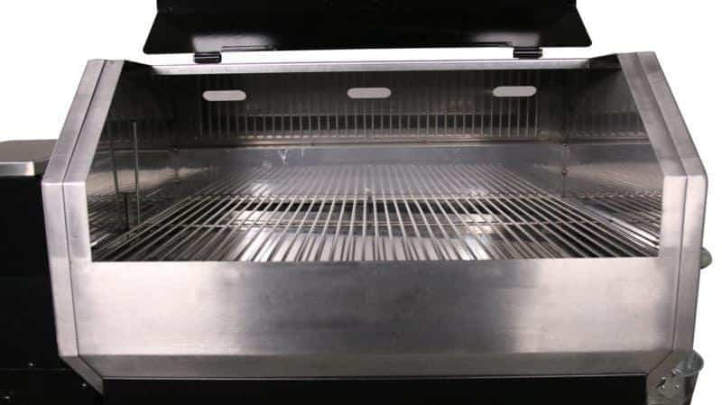 stamped grill