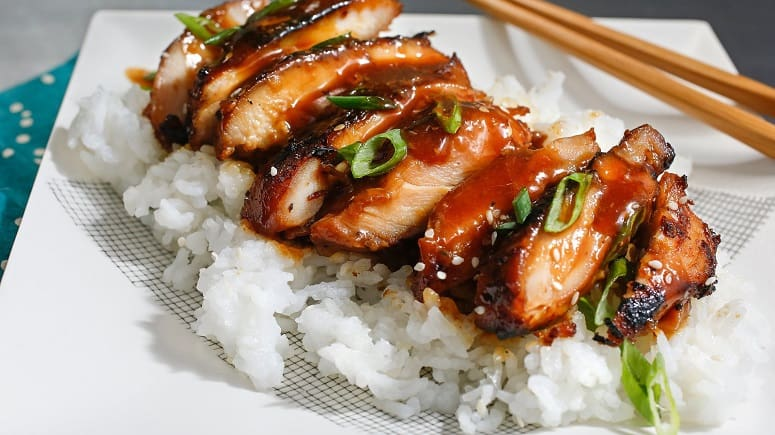Smoked Chicken Teriyaki