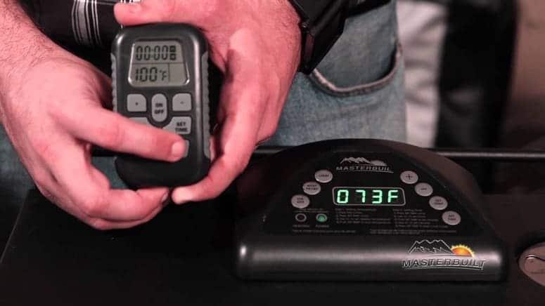 Electric smoker remote controls