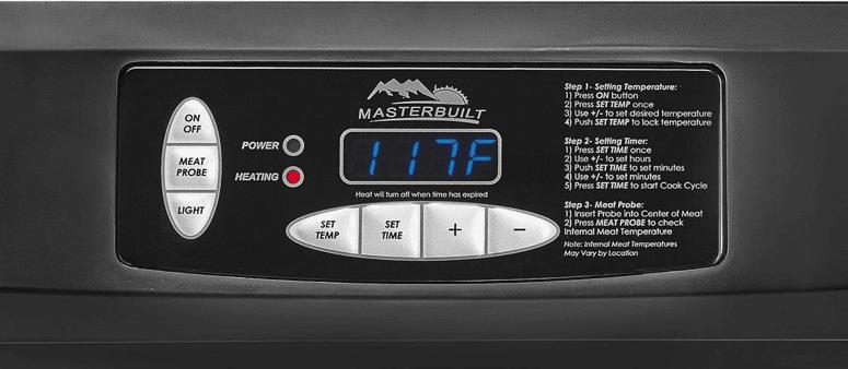 masterbuilt temperature probe