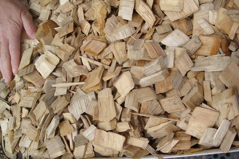 Wood Chips Of Acacia