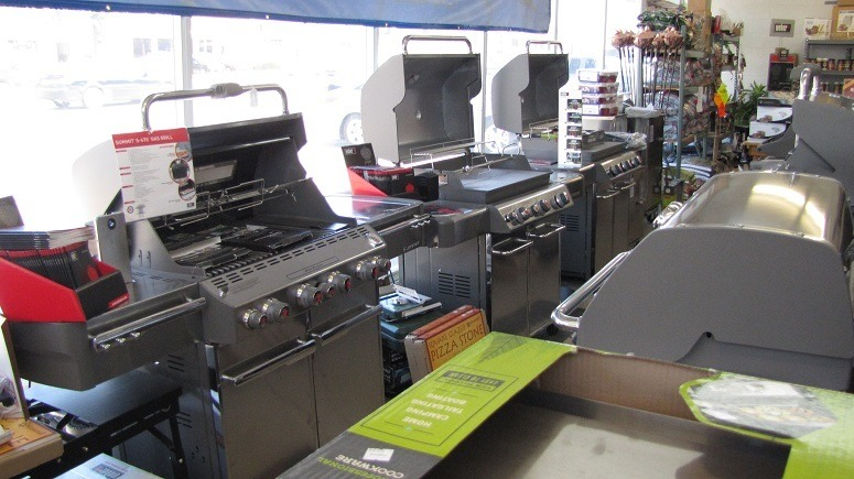 Gas Grills In Store