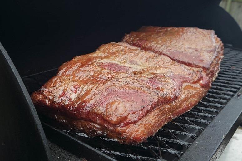 Smoking Beef
