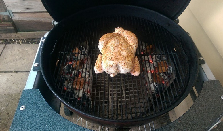 Using Canyon Method On Chicken Grill
