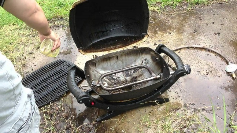 Portable Gas Grill Maintenance