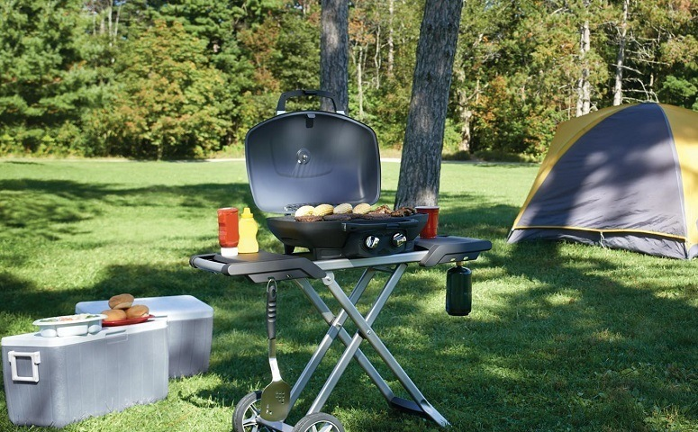 Using Portable Gas Grill