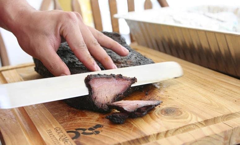 Beef Brisket Cutting