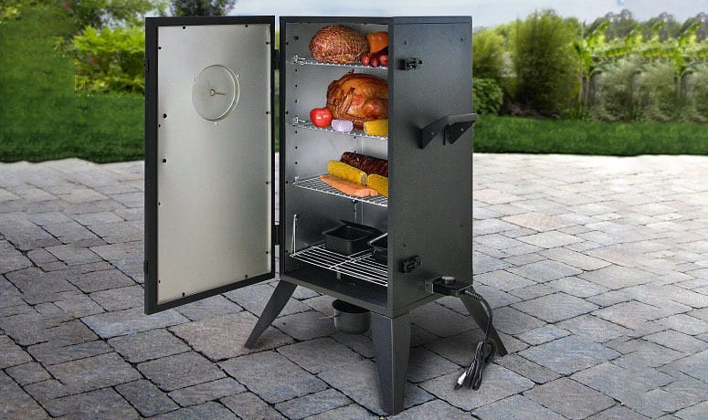 Meat In Electric Smoker