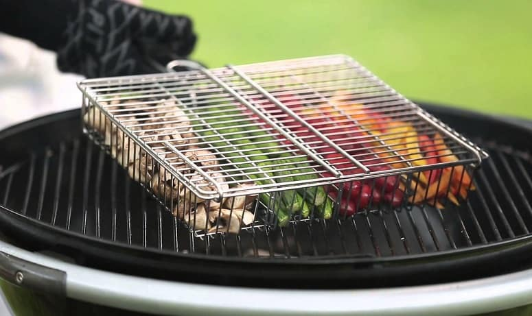 Using Basket For The Grill