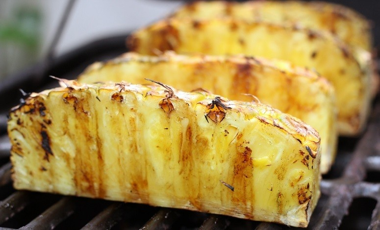 Pineapple On Grill