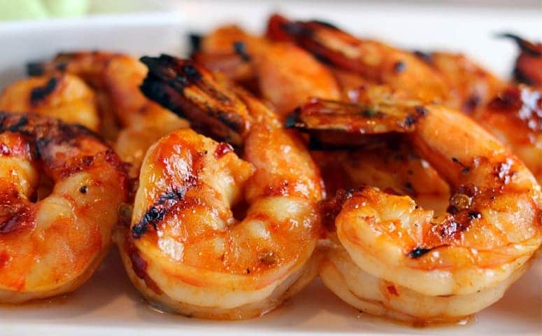 Mexican Spicy Grilled Shrimp