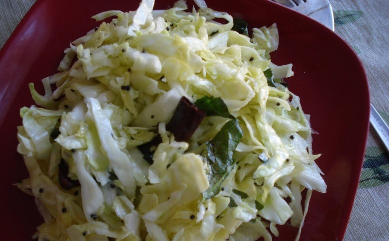 Cabbage Koshimbir