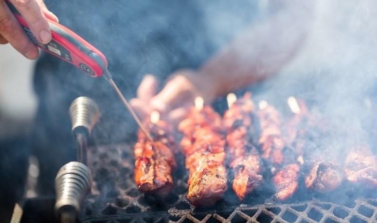 Measuring Meat Temperature