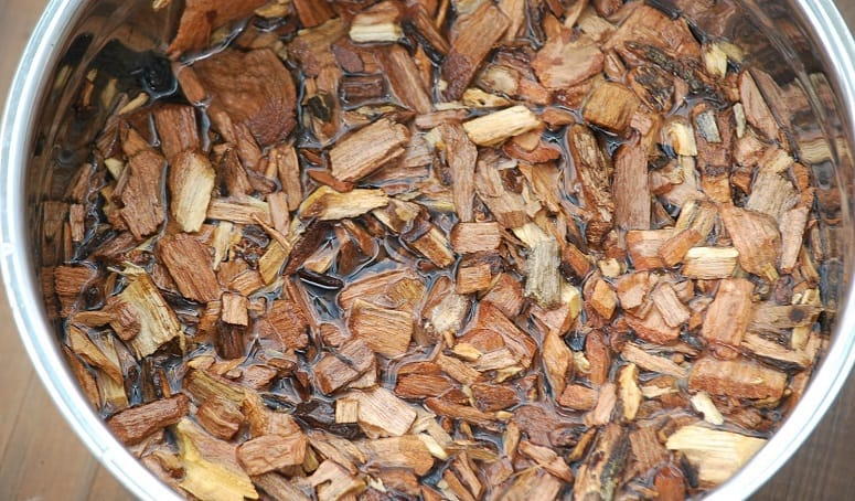 Wet Wood Chips