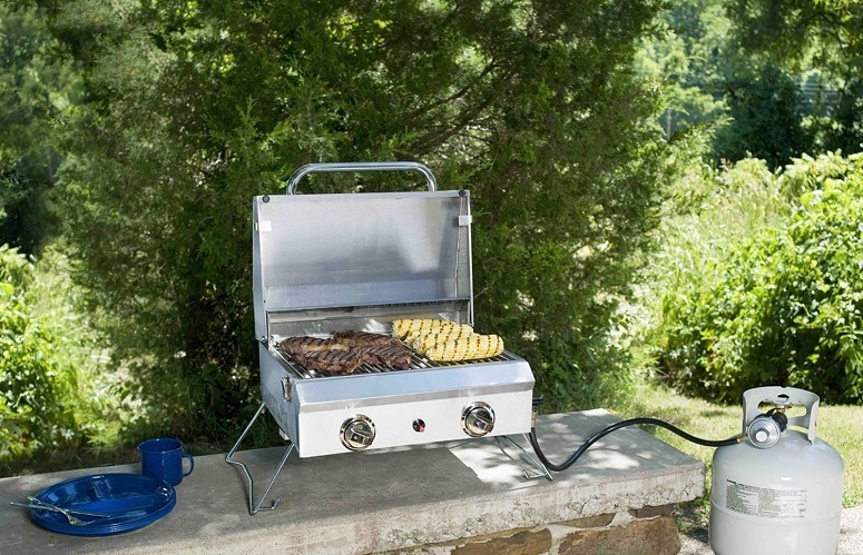 Using Stainless Steel Grill