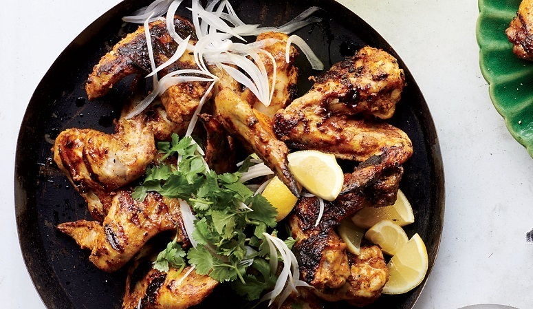 Chicken WIngs On Tandoori Style