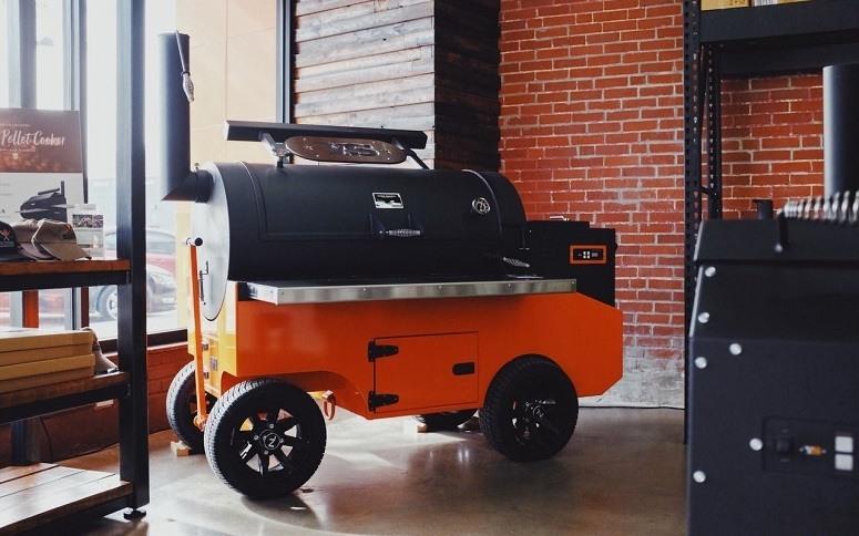 Orange Smoker