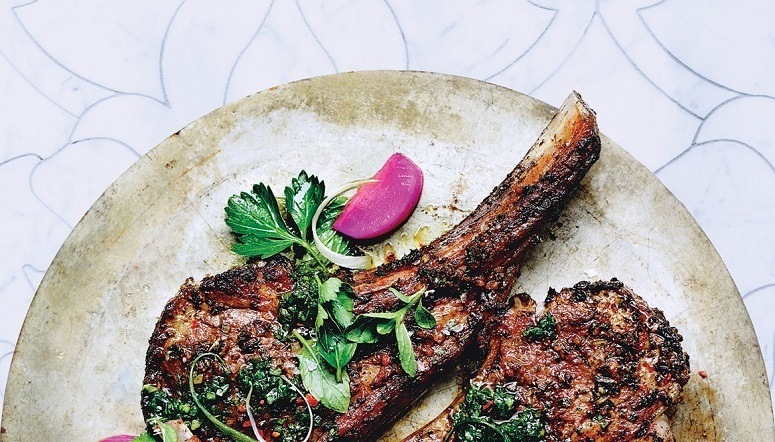 Cumin Grilled Lamb Chops