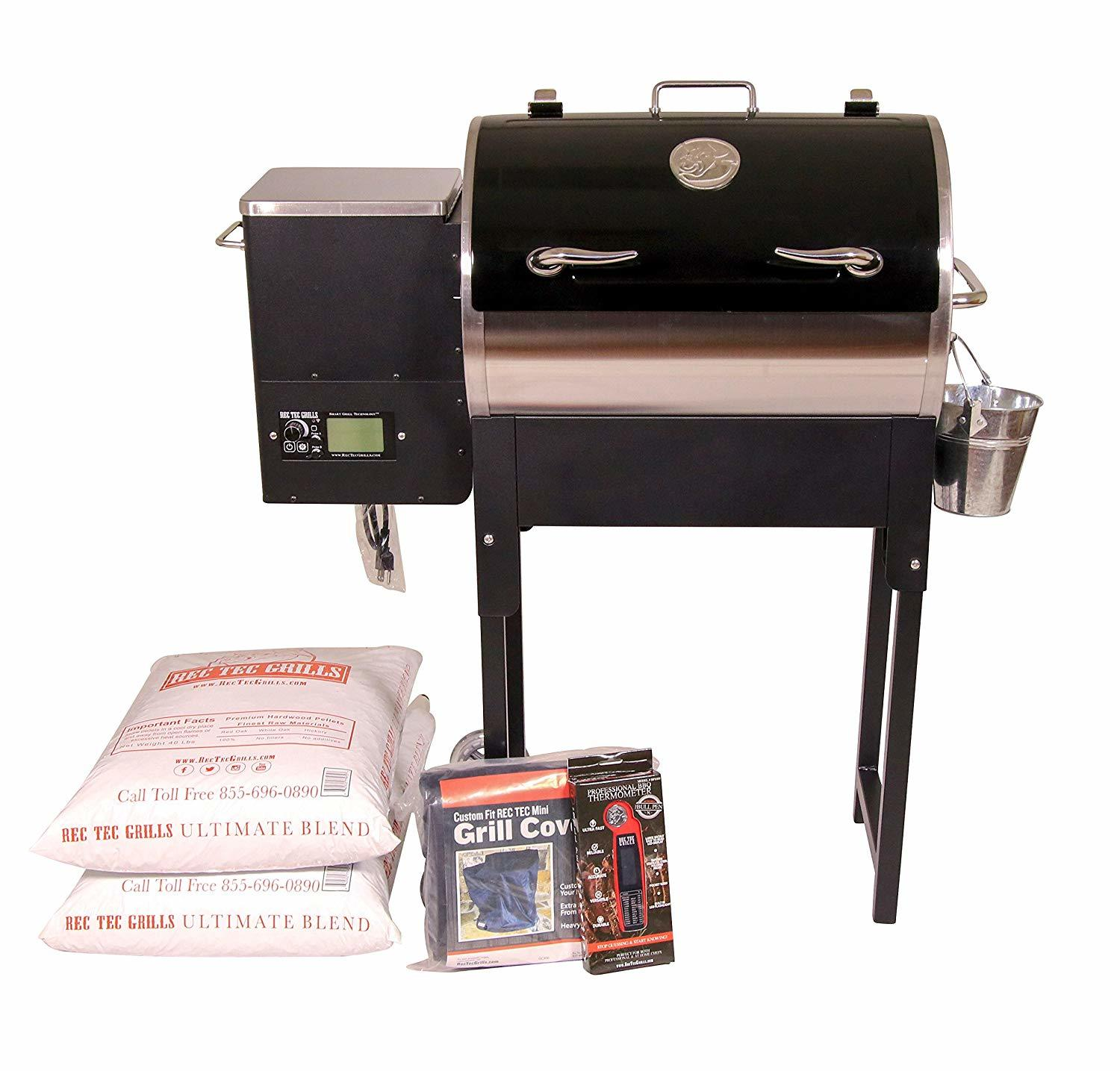 REC TEC Grills Trailblazer RT-340 Wood Pellet Grill Review