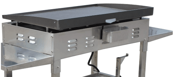 Blackstone 36 inch Stainless Steel Outdoor Flat Top Gas Grill Griddle Station