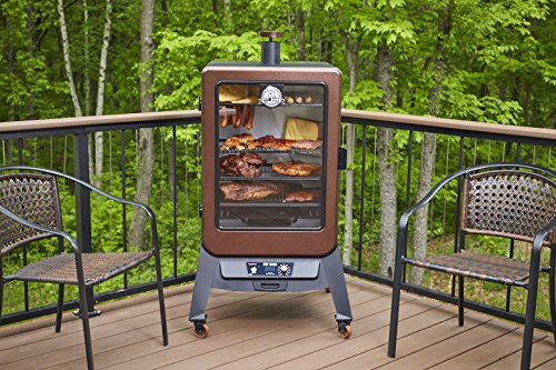 Image of Pit Boss Grills 77550 5.5 Pellet Smoker outside