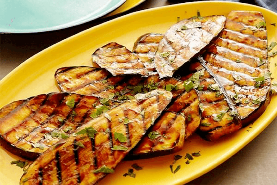 6. Spicy Hoisin Glazed Eggplant