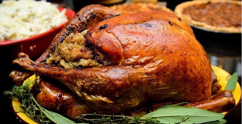 orange brined turkey