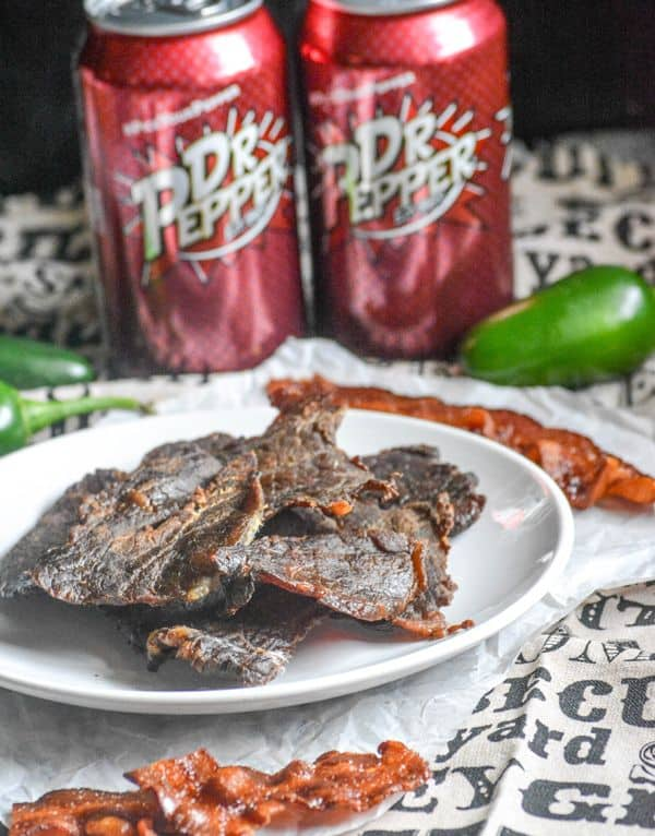 DR. PEPPER SMOKED BEEF JERKY