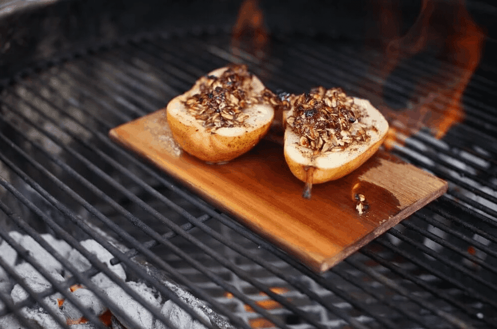 Pears on the Grill