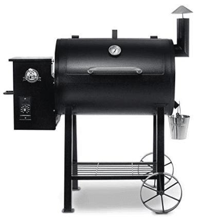 Pit Boss Grills 71820FB PB820FB BBQ Pellet Grill and Smoker, 820 sq. in. in