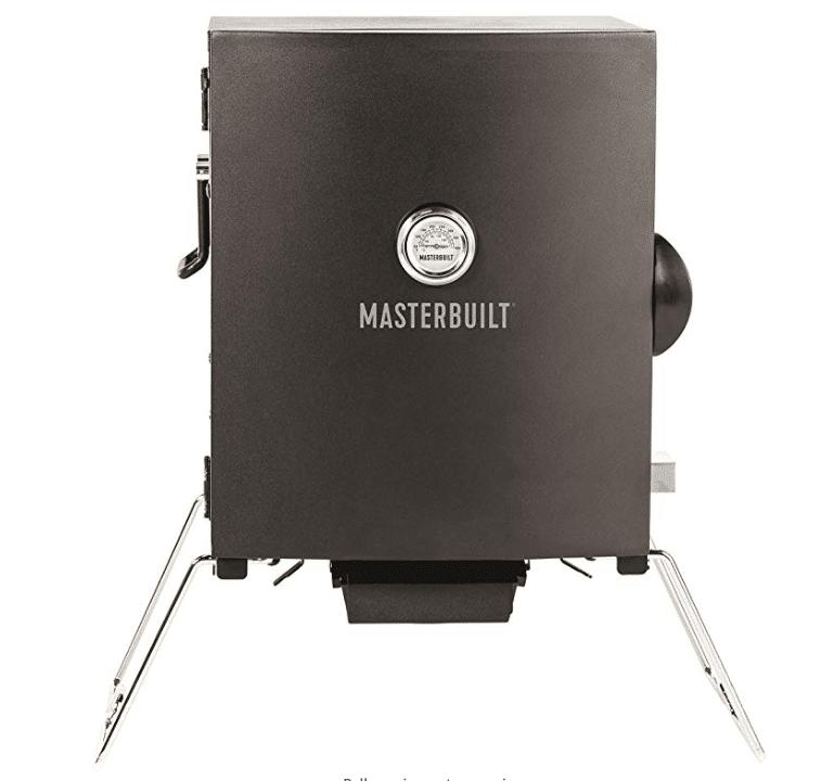 Masterbuilt MB20073716 Patio-2-Portable Electric Smoker, Black