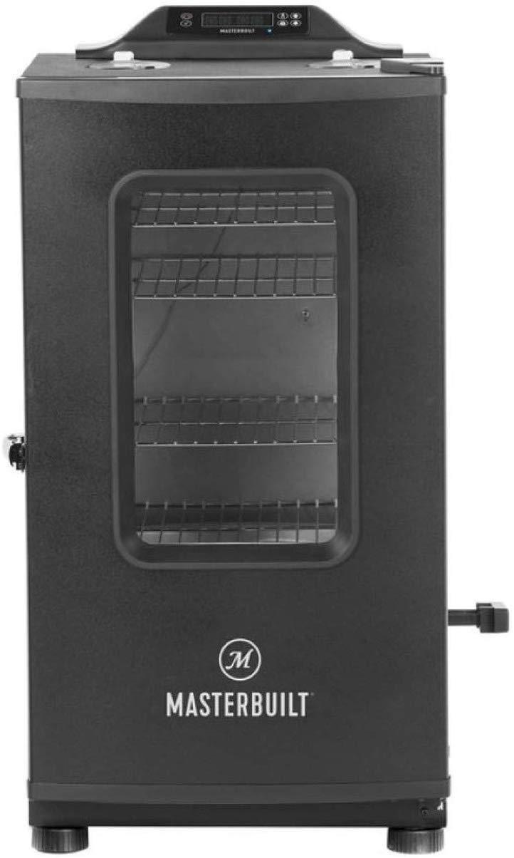 Product image of Masterbuilt MB20073519 MES 130P Bluetooth Digital Electric Smoker, Black