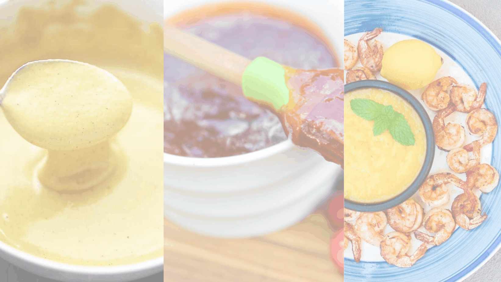 picture of 3 sweet sauce recipes