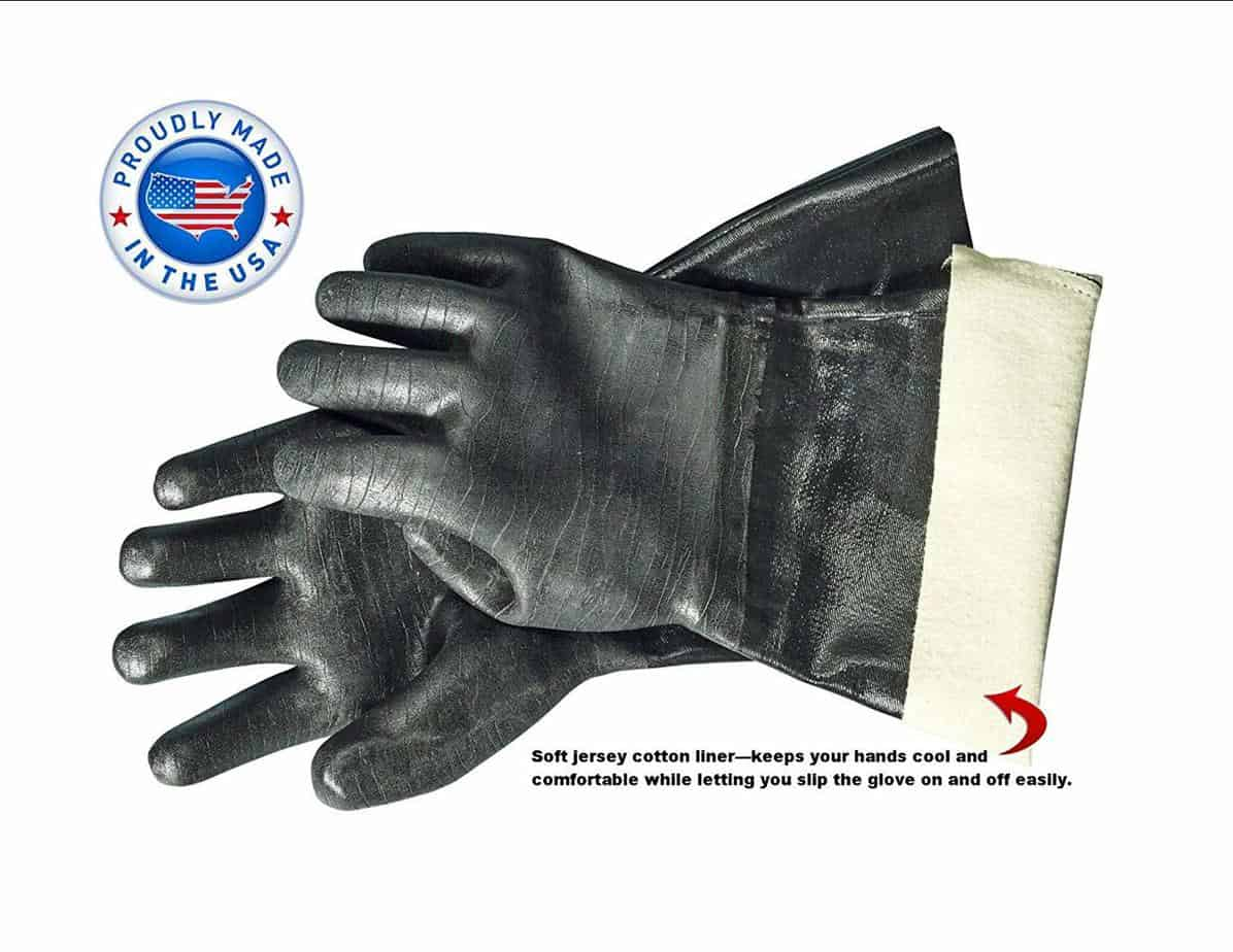 image of Artisan Griller BBQ Heat Resistant Insulated Gloves details
