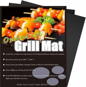 product image of OscenLife Grill Mats - Non stick BBQ Grill Mat Set of 4