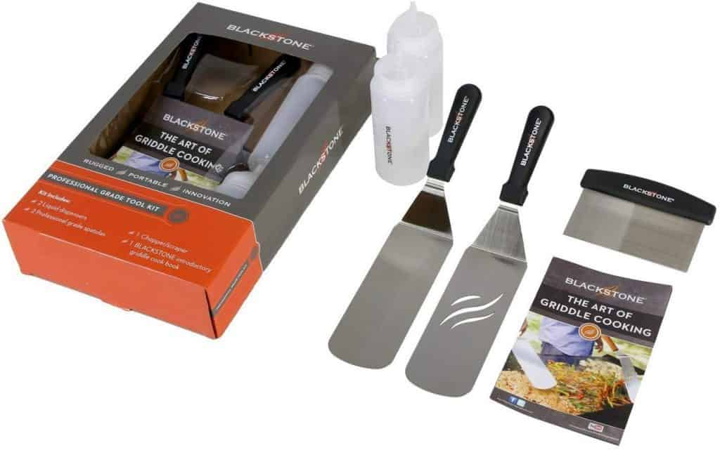 image of blackstone kit bbq tool set items