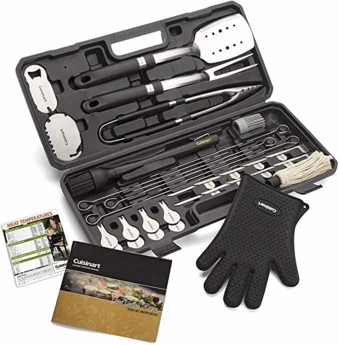 product image of Cuisinart CGS-8036 Backyard BBQ Tool Set, 36-Piece