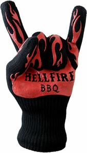 product image of hellfire bbq oven & gloves in rock on sign