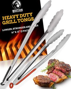 Product image of Mountain Griller Tong Set 12 & 16""