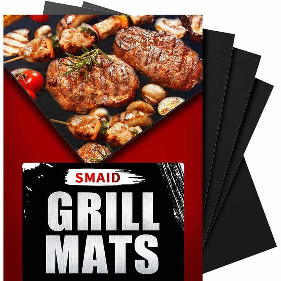 product image of 6. SMAID Grill Mat Non-stick BBQ Grill Baking Mats