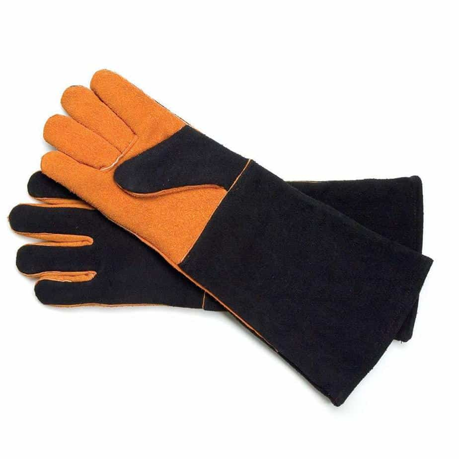product image of Steven Raichlen Best of Barbecue Extra Long Suede Grill Gloves (Pair) - SR8038