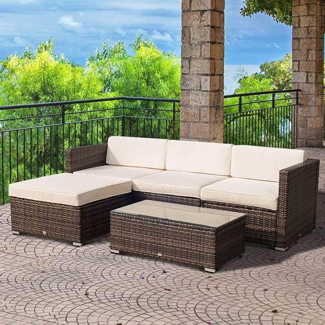 Image of Aluminum Patio Furniture