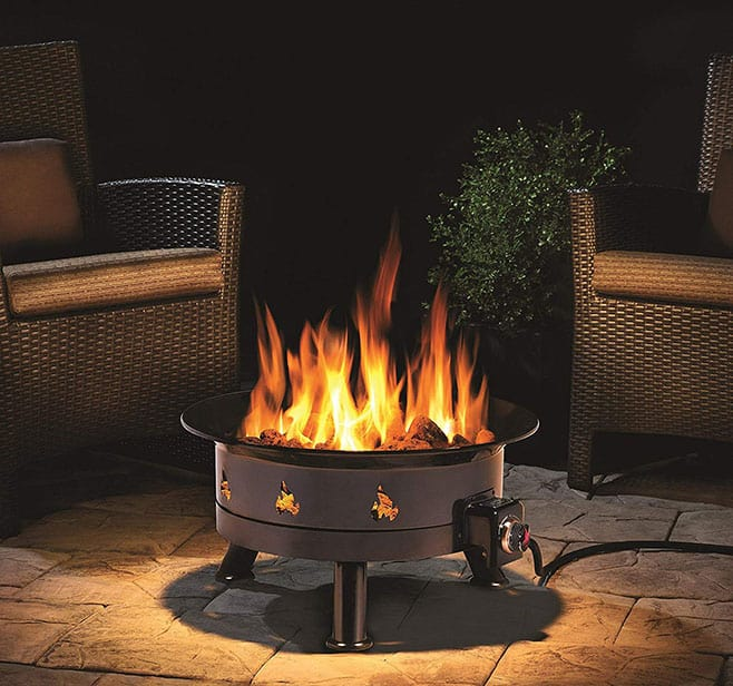 Outland Firebowl 883 Mega Outdoor Propane Gas Fire Pit Review on Outland Gas Fire Pit id=43420