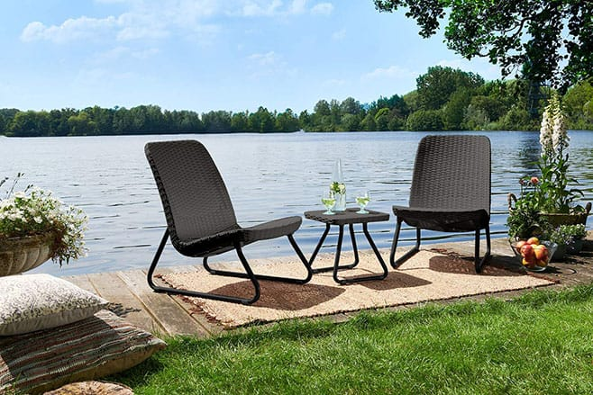 Image of Resin Wicker Patio Furniture